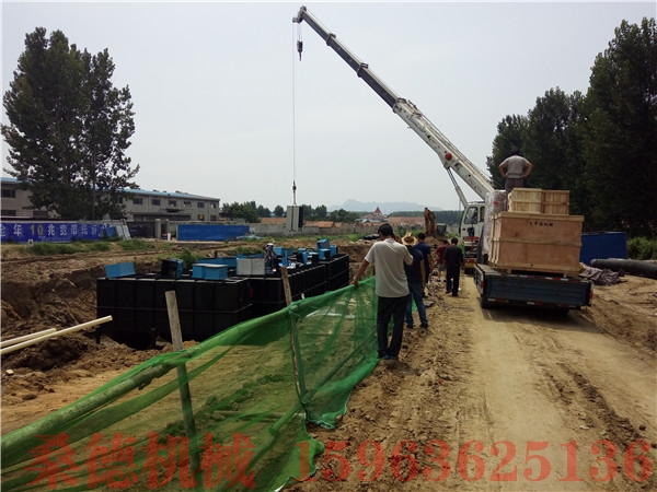 松原生活污水处理设备