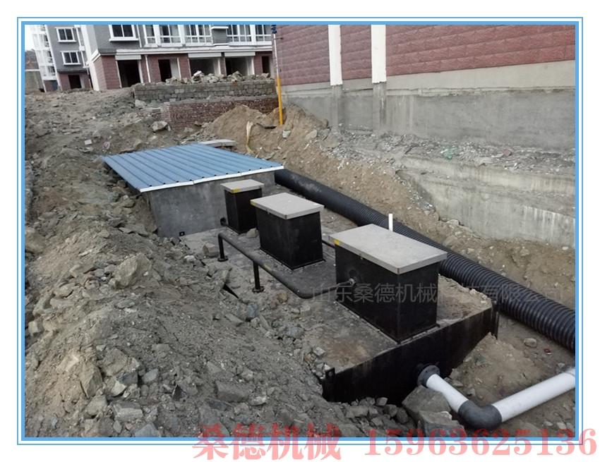 松原一体化污水处理设备